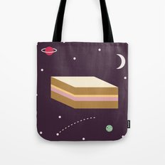 Ham & Cheese in Space Tote Bag