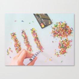 High on Sugar Canvas Print