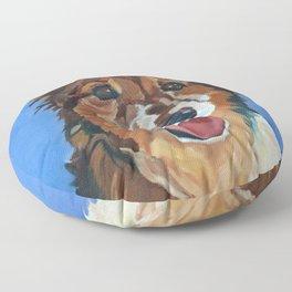 Myles the Dog Floor Pillow