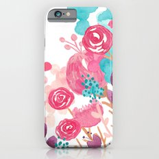 Blush Blossoms iPhone 6s Slim Case