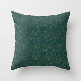 Lakeside Swells Throw Pillow
