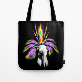 Fertile imagination - Rainbow Flower Tote Bag