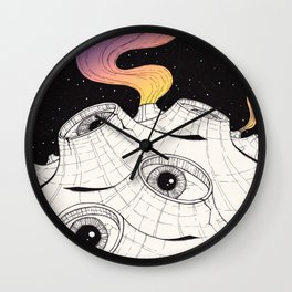 planets have ears Wall Clock