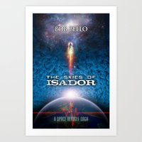 The Skies of Isador Art Print