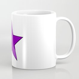 Purple Star Coffee Mug