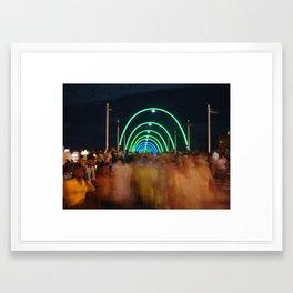 Party Bridge Framed Art Print
