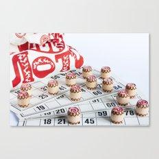 Lotto Canvas Print