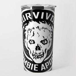 Survivor of the Zombie Apocalypse Travel Mug