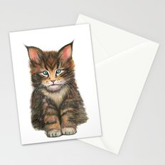 Little Kitten II Stationery Cards