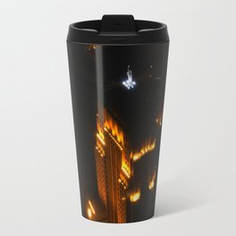 Chicago's Goddess of Grain (Chicago Architecture Collection) Travel Mug