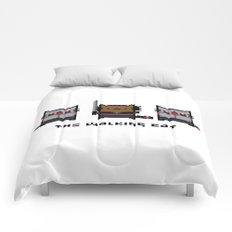 The Walking Cat - Meowchonne Comforters