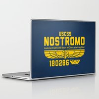 prometheus Laptop & iPad Skins featuring USCSS Nostromo by Nxolab