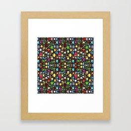 Stained Glass-3 Framed Art Print