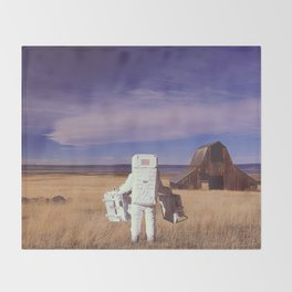 Visitor Throw Blanket