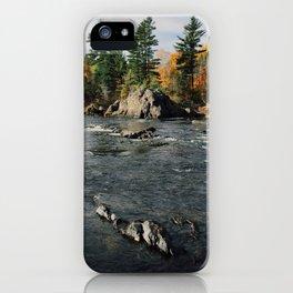 Penobscot River iPhone Case
