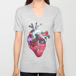 Superstar Heart Unisex V-Neck