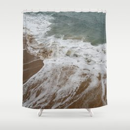 The Violence is a Brewing Shower Curtain