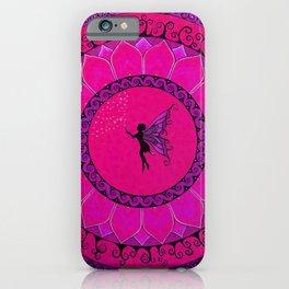 Fairy Garden Pink iPhone Case
