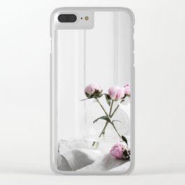 Flowers and room Clear iPhone Case