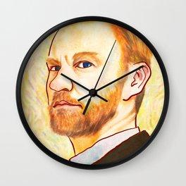 Vincent Van Gatiss Wall Clock