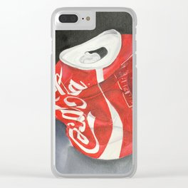 Coca-Cola Can Clear iPhone Case