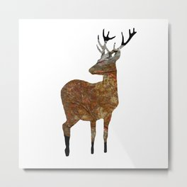 deer · things from the past Metal Print