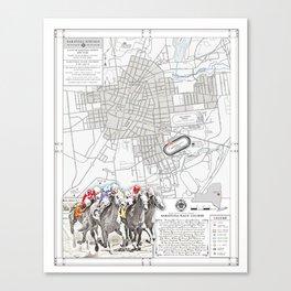 Saratoga Springs {Horse Racing Course} Canvas Print