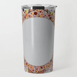 Autumn Flower Travel Mug