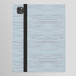 Meteor Stripes - Light Blue iPad Folio Case
