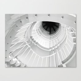 The Winding Staircase Canvas Print