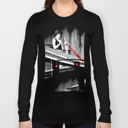 Stop the Freeway Overpass Scales Madness! Long Sleeve T-shirt