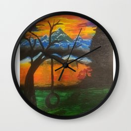 lonely thinking Wall Clock