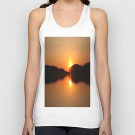 Sunset in May #decor #society6 Unisex Tank Top
