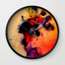 At the tempo of the carnival Wall Clock