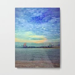 """...walk to the water..."" Metal Print"