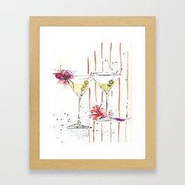 city martini's Framed Art Print