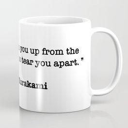 Haruki Murakami Quote Coffee Mug