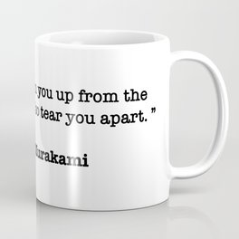 Haruki Murakami Quote Coffee Mug