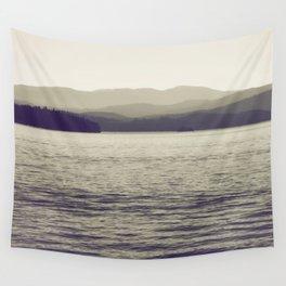 Vintage Lake Wall Tapestry