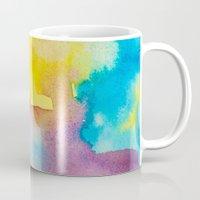 heaven Mugs featuring Heaven by elena + stephann