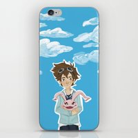 digimon iPhone & iPod Skins featuring Digimon Tri by lulovera