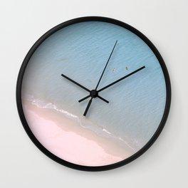 """""""Ocean dreams"""". At the paradise Wall Clock"""