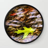 underwater Wall Clocks featuring underwater by Bonnie Jakobsen-Martin
