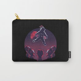 Xmas Aliens With Astronaut Carry-All Pouch