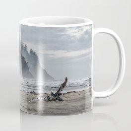 Hills And Mist At Proposal Rock Coffee Mug