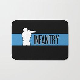 Infantry Blue Bath Mat