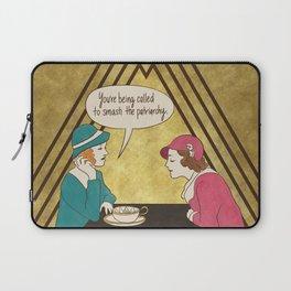 Tea and Patriarchy Laptop Sleeve