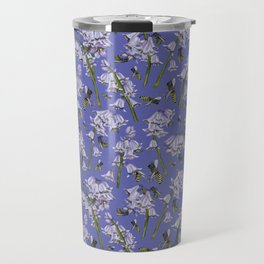 Bluebells and Busy Bees Travel Mug
