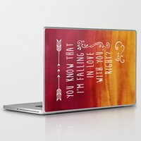 fangirl Laptop & iPad Skins featuring Fangirl by solMKC