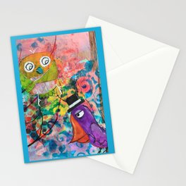 Mr. Grumpy Pants - Quirky Bird Series Stationery Cards